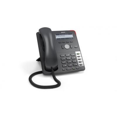 Snom ip telefoon: 710 - Zwart, Platina