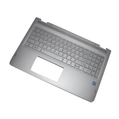HP Top Cover & Keyboard (Arabic) notebook reserve-onderdeel - Zilver