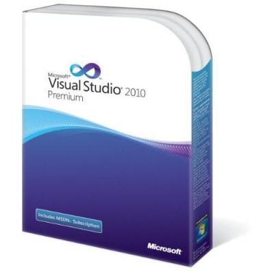 Microsoft VisualStudio 2010 Premium + MSDN, SA, OVL-NL Software