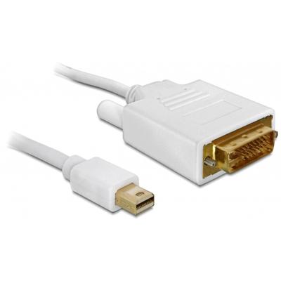 DeLOCK Cable Displayport mini male > DVI 24pin male 2 m - Wit