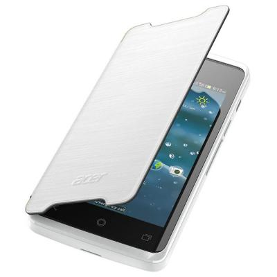 Acer mobile phone case: Liquid Z200 Flipcover Wit