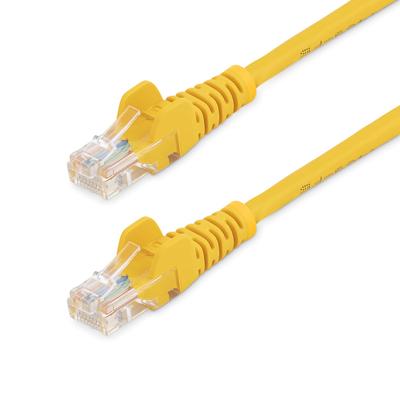 StarTech.com Cat5e patchkabel met snagless RJ45 connectors 3 m, geel Netwerkkabel