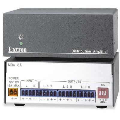 Extron MDA 3A Audio versterker - Zwart