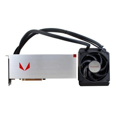 Sapphire videokaart: Radeon RX Vega 64 8G HBM2 - Zilver