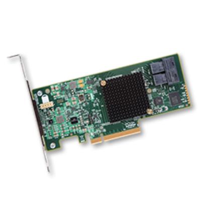 Broadcom SAS 9300-8i Interfaceadapter - Groen, Grijs