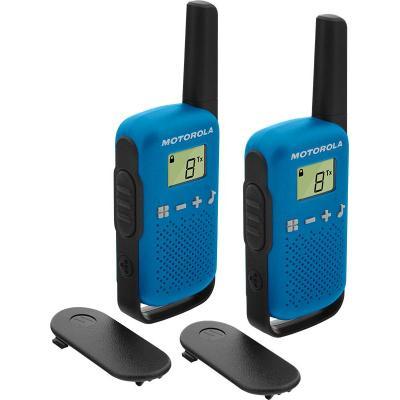 Motorola TALKABOUT T42 walkie-talkie - Zwart,Blauw
