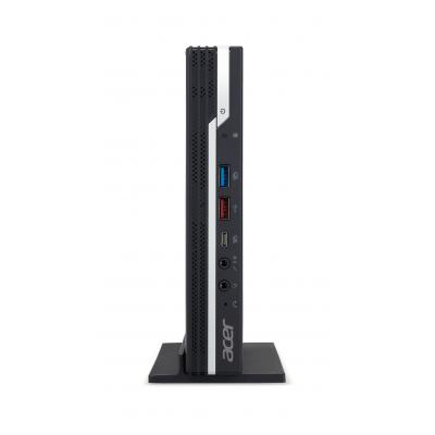 Acer pc: Veriton N6660G - Zwart, Zilver