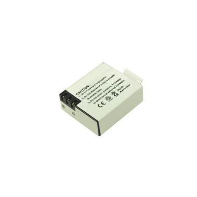 2-power batterij: Digital Camera, Lithium ion, 3.7 V, 900 mAh, 20 g, Rectangular - Wit