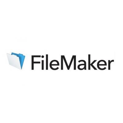Filemaker vergoeding: Pro, Mnt (1 year), 1 seat, GOV, corporate, VLA, Tier 2 (25-49), Legacy, Win, Mac