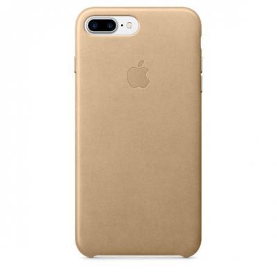 Apple mobile phone case: Leren hoesje voor iPhone 7 Plus - Sahara‑beige