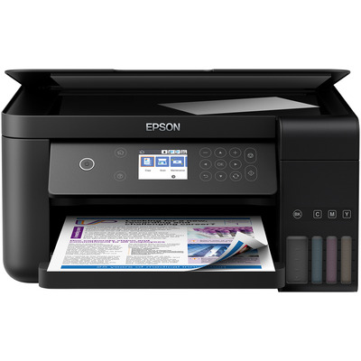 Epson EcoTank ET‑3700 Multifunctional - Zwart, Cyaan, Magenta, Geel
