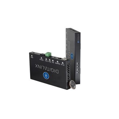 Liberty DL-HD70, HDBaseT, HDMI, RJ-45, TRS, RS-232, HDCP 2.2, 10.2 Gbps, 135x74x15 mm AV extender - Zwart