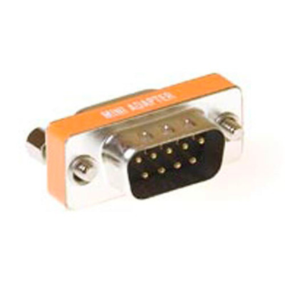ACT D-sub null modem adapter 9-polig female - 9-polig male Kabel adapter