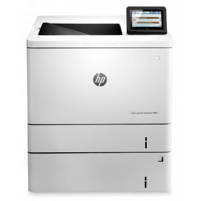 Hp laserprinter: LaserJet Color Enterprise M553x - Zwart, Cyaan, Magenta, Geel