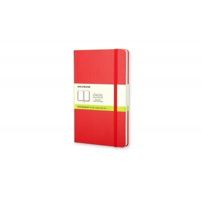 Moleskine schrijfblok: Plain Red Notebook - Pocket - Rood