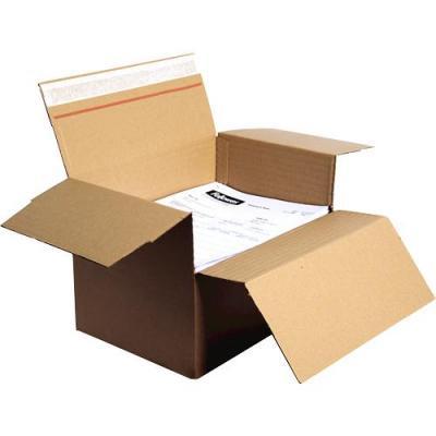 Fellowes Bankers Box® Fastfold® Variable Versandbox (A4), 7374901 inpakmateriaal - Bruin