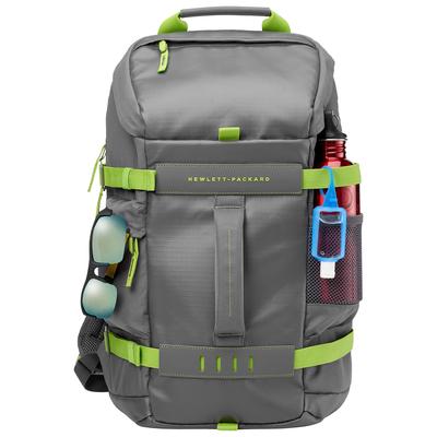 "HP 15.6"" (39.62cm) Gray Odyssey Backpack Rugzak - Groen, Grijs"