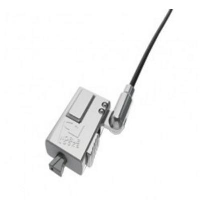 Compulocks Dell Tablet Lock XPS Lock Wedge Tech Kabelslot - Zwart, Zilver