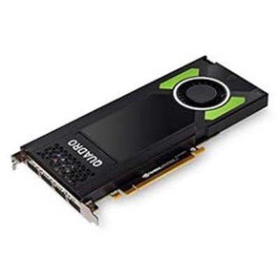 Dell videokaart: Quadro P4000 - Zwart, Groen
