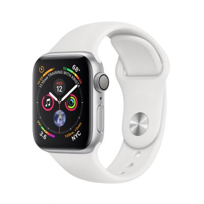 Apple Series 4 Silver Aluminium (40mm) Smartwatch