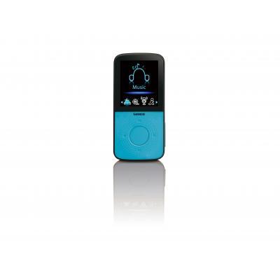Lenco MP3 speler: PODO-153 BLUE - Blauw