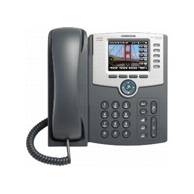 "Cisco IP telefoon: SPA 525G2, 5-Line, LCD, 8.128 cm (3.2 "") , 320x240, Wi-fi, Bluetooth, grey"