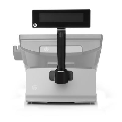 Hp paal display: Retail RP7 VDF-display voor de klant - Zwart