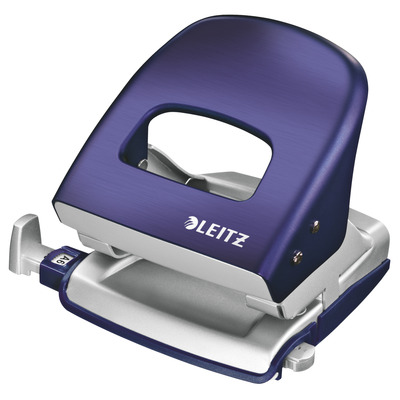 Leitz perferator: NeXXt Series Style metalen kantoorperforator - Blauw