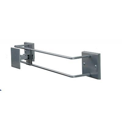 R-go tools montagehaak: Steel Alternative Muurbeugel, verstelbaar, zilver
