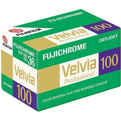 Fujifilm kleurenfilm: Velvia 100
