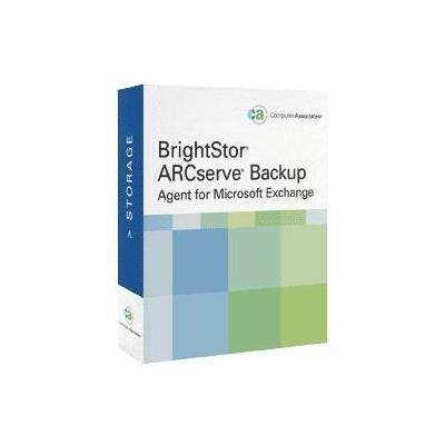Arcserve backup software: Backup Agent for Microsoft Exchange for Windows, Maintenance Renewal 1 year, 1 user, OLP, .....