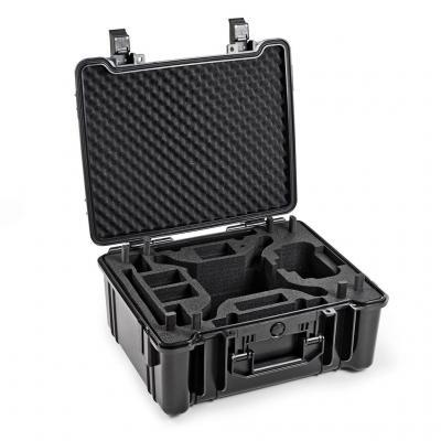 B&w : ABS/Foam, 500.3x424.1x231.1mm, 4.98kg, Black - Zwart