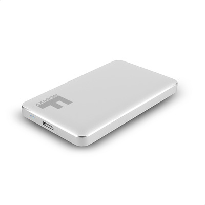 "Axagon EE25-F6S USB 3.0 FULLMETAL box, 2.5"", Silver Behuizing - Zilver"