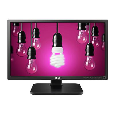 """LG 23.8"""" IPS LED, 1920 x 1080, 16:9, 250 cd/m², 1000:1, DisplayPort, DVI-D, VGA, USB 2.0 x 2 Monitor - Zwart"""