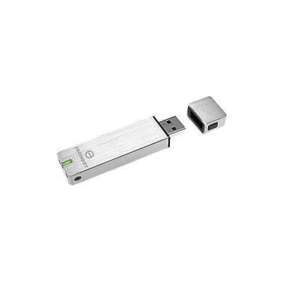 Ironkey USB flash drive: Basic S250 32GB - Zilver
