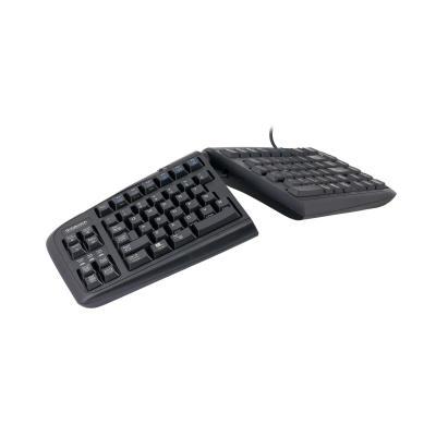 R-go tools toetsenbord: Goldtouch Gesplitst Toetsenbord UK Layout - Zwart, QWERTY
