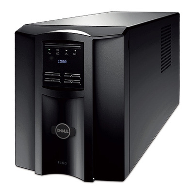 Dell UPS: Smart-UPS, 1000 W /1500 VA, Input 230V / Output 230V, Interface Port SmartSlot, USB - Zwart