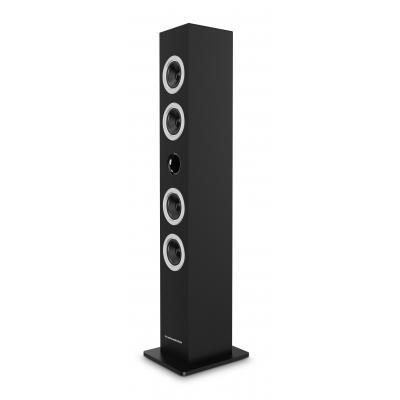 Thomson home stereo set: Multimedia tower / CD player (black) - Zwart