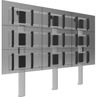SmartMetals VW3.22260-080 TV standaard - Aluminium, Grijs