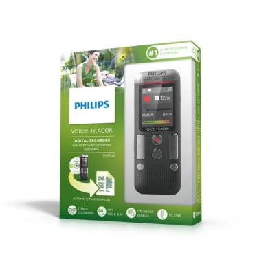Philips voice recorder: Voice Tracer 2700 - Antraciet, Chroom