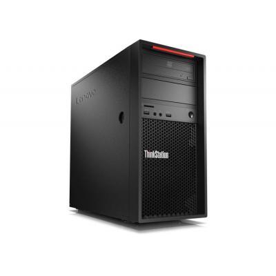 Lenovo pc: ThinkStation P520c + nVidea Quadro P2000 - Zwart