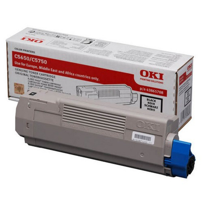 OKI cartridge: Black toner voor C5650/5750
