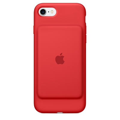 Apple mobile phone case: Smart Battery Case voor iPhone 7, Rood