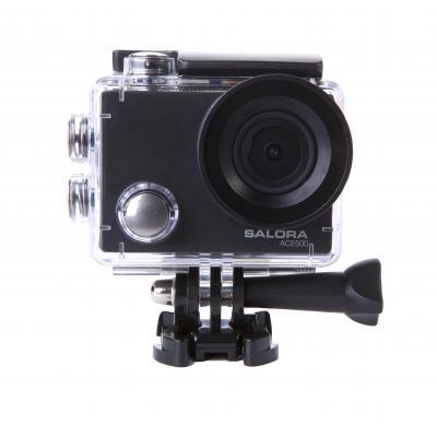 Salora actiesport camera: Voordelige 4K actioncamera met WiFi - Zwart