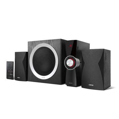 Edifier luidspreker set: 2.1, 2x 10W + 45W, MP3/WMA, USB, SD, AUX - Zwart
