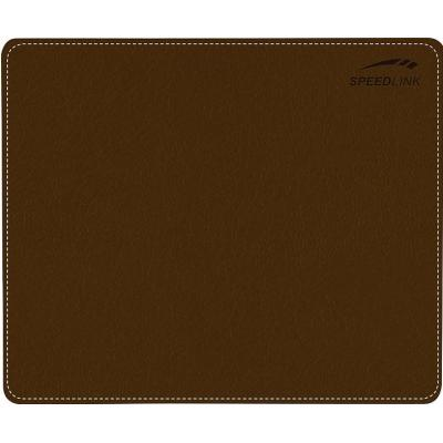 Speed-link muismat: NOTARY Soft Touch Mousepad, brown - Bruin