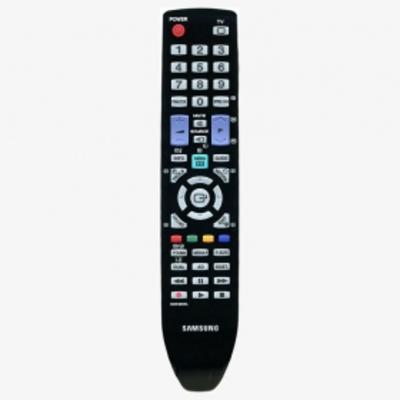 Samsung afstandsbediening: Remocon, TM950, 48Key, 3V, Europe, 124g - Zwart