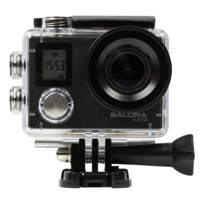 Salora actiesport camera: 12MP Sony 179 Sensor, Super wide angle 170º, 4K @25fps, Micro SD, Micro USB, Mini HDMI, .....
