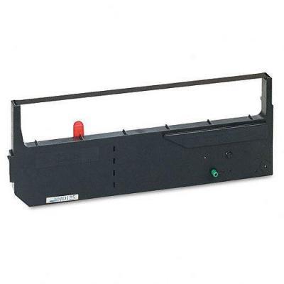 TallyGenicom 125Mio signs black nylon Printerlint - Zwart