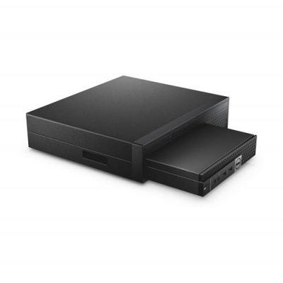 Dell cpu steun: OptiPlex Micro-console met dvd-rw - Zwart